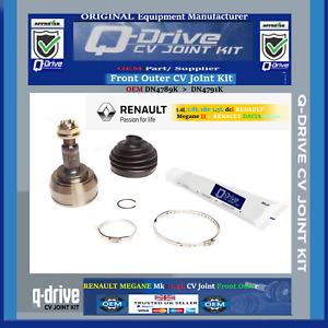 Front Outer CV Joint Kit > 1.4,1.6L 16v 1.5L dci RENAULT Megane II > DACIA Logan
