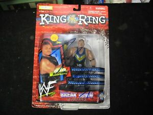 1999 Jakks WWF King of the Ring D'Lo Brown Action Figure