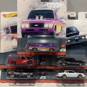 Hot Wheels Car Culture Power Trip Complete Set 1-5 SEALED UNOPENED
