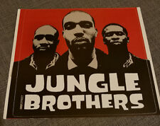 "Rare Jungle Brothers ""Raw Deluxe"" Promo Sticker 1997 A Tribe Called Quest De La"