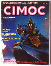 Cimoc N°3; Frank Cappa/ Tardi/ Perro De Estroncio/ Quien ES..Segrelles/ Druillet