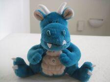 "FAT DRAGONS PEPONI MAXWELL 7"" Plush Stuffed Animal Blue"