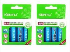 8PCS KENTLI 1.5v 3000mWh rechargeable Lithium AA PH5 battery R6 R06 LR06