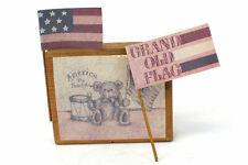 Sarah's Attic America The Beautiful Display Block #2 Grand Ole Flag