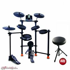 Jammin Pro IROCKER All In One Electronic Drum Set for iPod iPhone w/ Free Throne