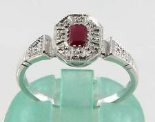 Ruby Ring Art Deco Fine Jewellery