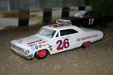 1964 Ford Galaxie 500, #26 Curtis Turner, Old School Stock Car 1/43
