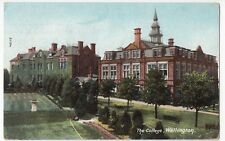 Shropshire; The College, Wellington PPC 1926 Southport PMK, View From Gardens
