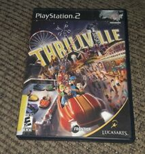 Thrillville Ps2 Playstation 2 Kids Theme Park Game Black Label