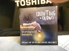 COUNTING CROWS ADAM DURITZ SIGNED UNDERWATER SUNSHINE CD COVER