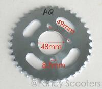 Rear Sprocket #420 35th /& Holder Bolt Pattern = 3x53mm Shaft=30mm Splines=34