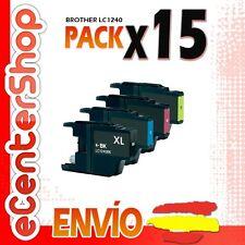 15 Cartuchos LC1240 NON-OEM Brother DCP-J925DW / DCPJ925DW 24H