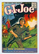 G.I. Joe #41 VG October 1955
