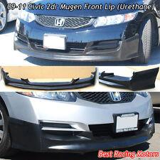 Mu-gen Style Front Bumper Lip (Urethane) Fits 09-11 Honda Civic 2dr