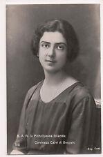 Vintage Postcard Princess Yolanda of Savoy Countess of Bergolo