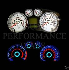 FORD FOCUS MK2 PETROL SPEEDO DASH PLASMA GLOW WHITE DIAL KIT