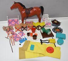 Lot 30+ Mattel Ken Barbie Mary Quant Daisy furniture horse parts Vintage Rare