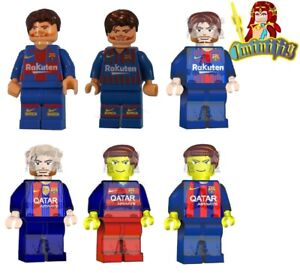 Custom minifigure Lionel Messi in Barcelona Jersey 2004-2020 UV Printed minifig