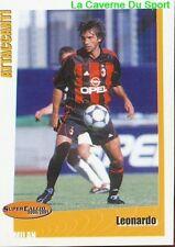 195 LEONARDO BRAZIL AC.MILAN PSG STICKER SUPER CALCIO 2001 PANINI