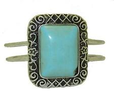 Turquoise Silver Plated Bangle Unbranded Costume Bracelets