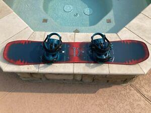 Burton Process Smalls 134cm Youth Snowboard w/Medium K2 Sonic Bindings