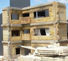 Dioramas Plus 1/35 3-Story Apartment Ruined Middle Eastern Building Section DP12