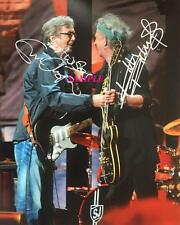 ERIC CLAPTON KEITH RICHARDS REPRINT AUTOGRAPHED 8X10 SIGNED PICTURE PHOTO RP