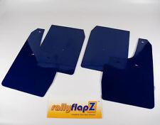 Rallyflapz Kaylan mudflaps Ford Fiesta Mk6 (2002 & gt 08) rendimiento Azul