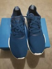 Adidas NMD R1 Collegiate Navy Blue White 10.5 S31502 Boost Ultraboost