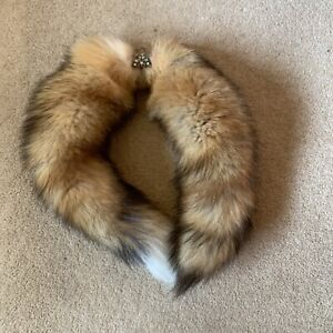 Genuine  Red Fox Fur  Collar