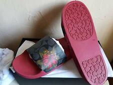 Coach slide sandals size 10 woman