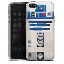 Apple iPhone 5 Silikon Hülle Case - R2D2 Closeup