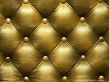 Galerie Bluff Oro Tela Chesterfield cabecero efecto Luxuryweight Wallpaper 888802