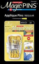 Taylor Seville Originals Comfort Grip Magic Pins Applique Regular -Quilting S.