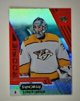 2020-21 UD Synergy Red Bounty Code Rookie #103 Connor Ingram RC - Nashville Pred