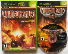 @@@ CRIMSON SKIES HIGH ROAD TO REVENGE MICROSOFT XBOX GAME COMPLETE @@@