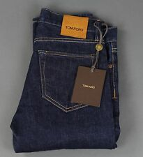 New Tom Ford Selvedge Denim Jeans Size 30 Slim Fit Model Raw Indigo Wash NWT