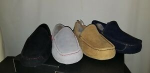 NEW IN BOX! UGG MEN'S ASCOT SLIPPERS SIZE 10,11,12 MODEL: 1016593 RARE COLORS!!