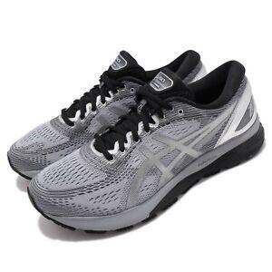 Asics Gel-Nimbus 21 Platinum Sheet Rock Silver Mens Running Shoes 1011A709-020