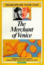The Merchant of Venice (Shakespeare Made Easy) by Shakespeare, William, Good Boo
