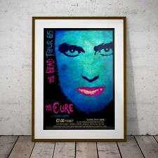 More details for the cure 85 concert poster framed or three print options robert smith exclusive