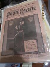 1929 8/24 Charley Chaplin City Lights Police Gazette em complete