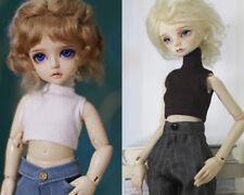 High-necked sleeveless Bottom Shirt for 1/6 1/4 1/3 DD BJD Doll Clothes CWB111