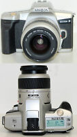 Minolta Maxxum 3 SLR Film Camera with 35-80mm 1:4(22)-5.6 AF Lens - Free S&H