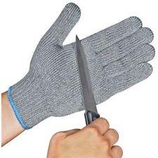 10 pair Safety Cut Proof AntiCut Resistant Kitchen Butcher Gloves Level 5  M/L