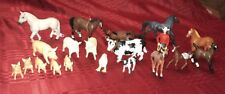 Safari Ltd lot Farm Animals & Horses Rare & Retired New And Used Lot