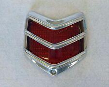 1940 Ford Glass Tail Light Lens & Bezel  NEW NOS OEM Stimsonite Duolamp