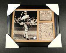 FRAMED SHOELESS JOE JACKSON 1919 WORLD SERIES 8x10 PHOTO CHICAGO BLACK SOX