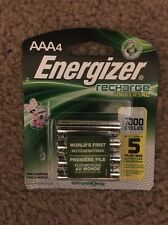 Energizer AAA Qty~8 Recharge 1000 cycle Rechargeable Batteries 1.2v 700mAh NEW