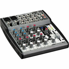 Behringer XENYX 1002FX 10 Input Professional Mixer With Built-In EQ XENYX 1002FX